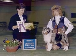 Eden is BISS & RWB her very first weekend. Judge Ellen Worthington